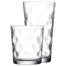 16 Piece Eclipse Glassware Set