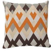 Global Bazaar Bijou Echo Linen Throw Pillow