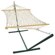 Rope Hammock and Stand