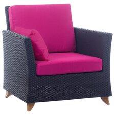 Deep Seating Arm Chair with Cushion