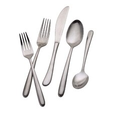 Signature Slope 20 Piece Flatware Set