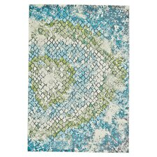 Esben Green/Blue Area Rug