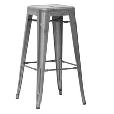"Baxton Studio 30.5"" Bar Stool (Set of 2)"