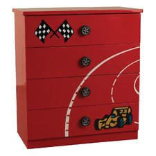 Formula 4 Drawer Chest of Drawers