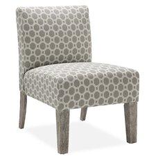 Palomar Slipper Chair in Grey