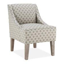 Prescott Slipper Chair in Taupe