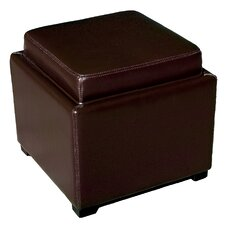 Baxton Studio Orsino Cube Storage Ottoman