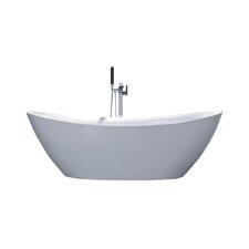 "Newport 67"" x 29.5"" Soaking Bathtub"