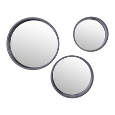 Daws 3 Piece Wall Mirror Set