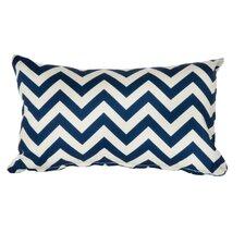 Chevron Indoor/Outdoor Lumbar Pillow