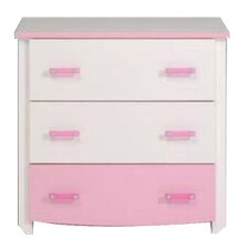 Baila 3 Drawer Chest of Drawers