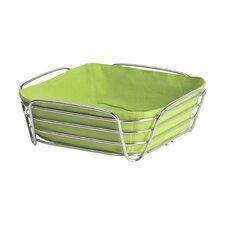 Delara Steel Wire Bread Basket in Chrome