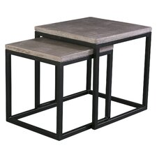 Mixx 2 Piece Nesting Table Set