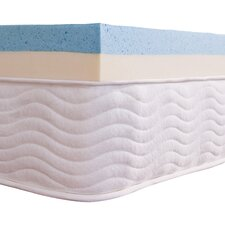"4"" Dual Support Gel Memory Foam Topper"