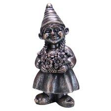 Girl Gnome Statue