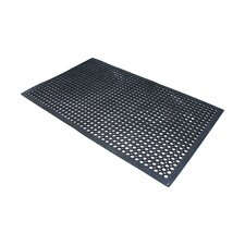 Buffalo Copr Foot Industrial Rubber Doormat (Set of 3)