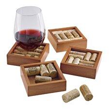 Wine Cork Coasters Kit (Set of 8)