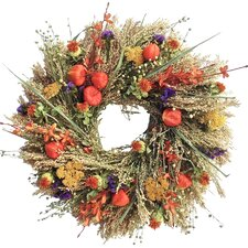 "Autumn Wildflower 22"" Wreath"
