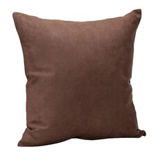 Decorative Faux Suede Throw Pillow (Set of 2)