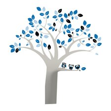 Trees Owl Extra Large Wall Decal