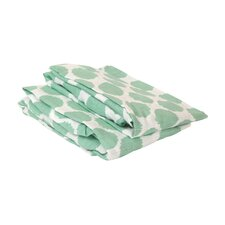 Ikat Dots Fitted Crib Sheets (Set of 2)