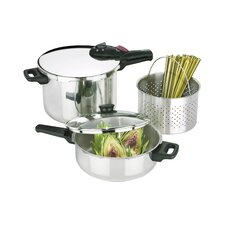 Splendid 5 Piece Multi-Pressure Cooker Set