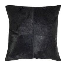 Carley Decorative Cowhide Throw Pillow