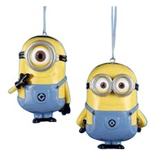 "3.5"" Despicable Me Dave/Carl Ornament (Set of 2)"