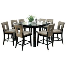 Vanderbilte 9 Piece Counter Height Dining Set