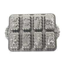 Platinum Holiday Mini Loaves Cake Pan