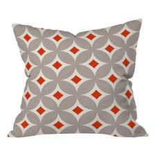 Holli Zollinger Vermillion Diamond Throw Pillow