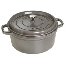 Cast Iron Round Cocotte with Lid
