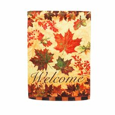 Fall Leaves Garden Flag