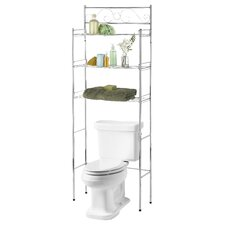 "24.75"" x 65.5"" Free Standing Over the Toilet"