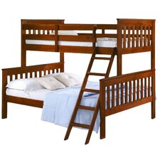 Donco Kids Twin over Full Futon Bunk Bed