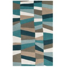 Carlotta Dried Oregano/Sea Blue Area Rug