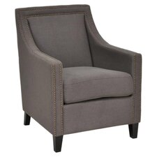 Sabina Arm Chair in Grey