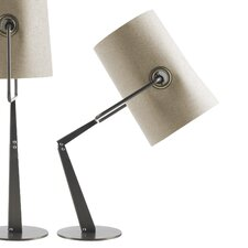 "Diesel Fork 24.63"" Table Lamp with Drum Shade"