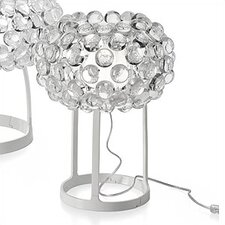 "Caboche 15"" H Table Lamp with Sphere Shade"
