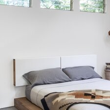 LAXseries Wood and Metal Headboard