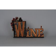 Classic Home 1 Bottle Tabletop Wine Rack