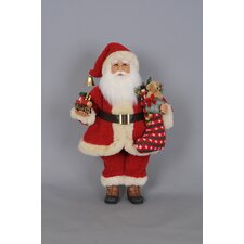 Christmas Train Santa Figurine