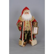 Christmas Believe in the Magic Santa Figurine