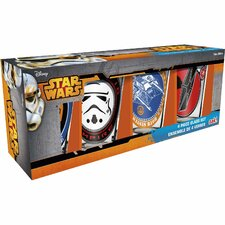Star Wars Classic 4 Piece 10 Oz. Insulated Tumbler Set