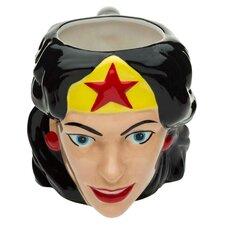 Wonder Woman Ceramic Sculpted Coffee Mug