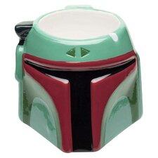 Star Wars Classic Boba Fett Ceramic Sculpted Coffee Mug