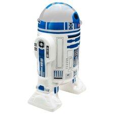 Star Wars Classic R2D2 Small Ceramic Sculpted Piggy Bank