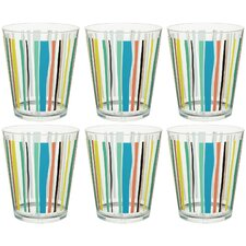 Strand 18 oz. Double Old Fashioned Cone Tumbler (Set of 6)