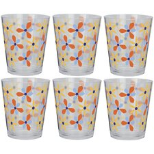 Sunny 18 oz. Double Old Fashioned Cone Tumbler (Set of 6)