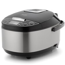 12-Cup Egg Shape Digital Slow Cooker, Food Steamer and Rice Cooker